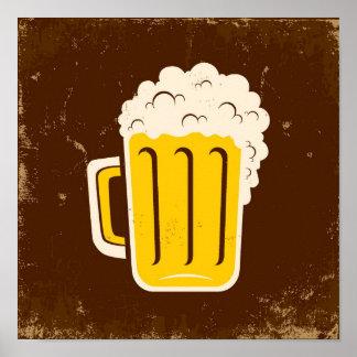 ビールのマグ ポスター