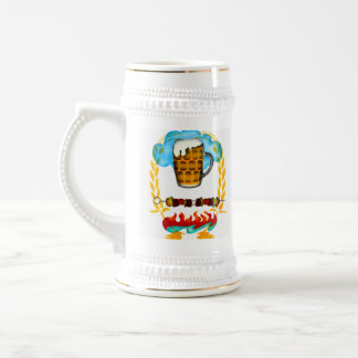 ビールの冷たいステイン! ビールジョッキ