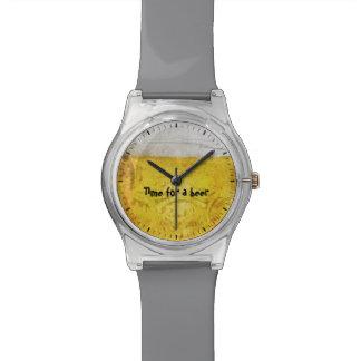 ビールの時間 腕時計