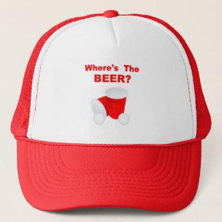 ビールはどこにありますか。 帽子/野球帽 キャップ