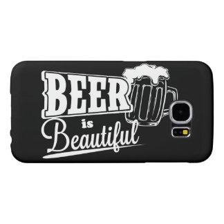 ビールは美しいです SAMSUNG GALAXY S6 ケース
