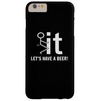 ビールを食べよう BARELY THERE iPhone 6 PLUS ケース