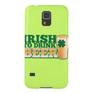 ビールを飲むアイルランド語! GALAXY S5 ケース