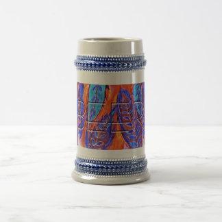 ビールオオムギのデザイン ビールジョッキ