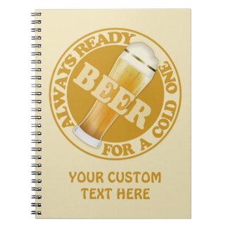 ビールカスタムのノート ノートブック