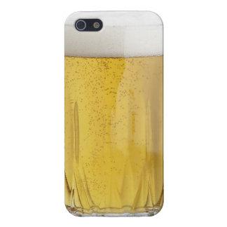 ビールガラスのおもしろいな飲料のパーティーアルコールリキュールの先生 iPhone SE/5/5sケース