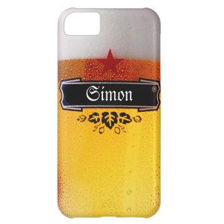 ビールガラスをカスタマイズ iPhone5Cケース