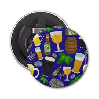 ビールガラスビンのホツプおよびオオムギパターン2 栓抜き