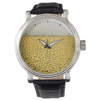 ビールガラス 腕時計