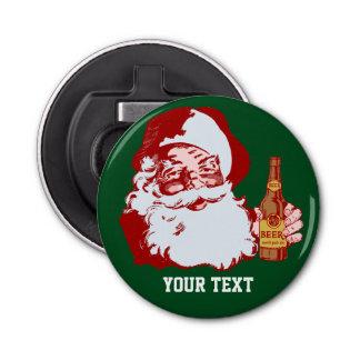 ビールクリスマスのカスタムのレトロのサンタクロース 栓抜き