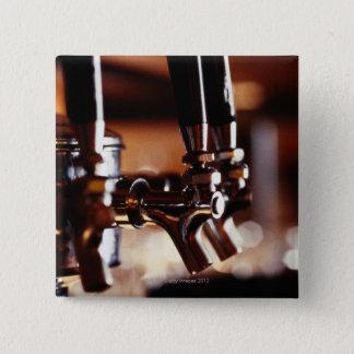 ビールタップ 5.1CM 正方形バッジ