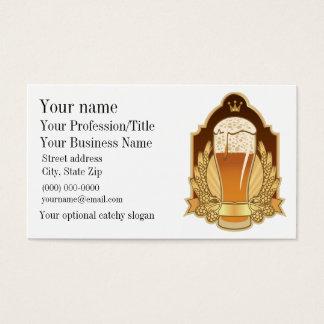 ビールデザインの名刺 名刺