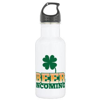 ビールビールのための入って来るSt patricks dayのデザイン ウォーターボトル