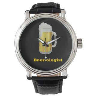 ビールユーモア 腕時計