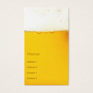 ビール名刺 名刺