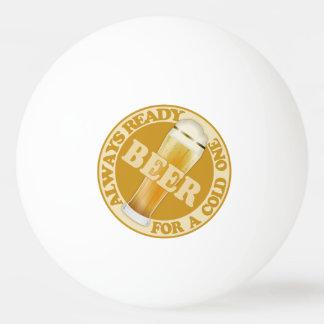 ビール名前をカスタムするのピンポン球 卓球ボール