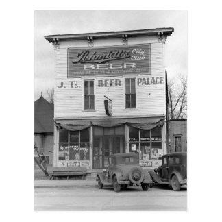 ビール宮殿Tavern 1940年 ポストカード