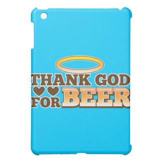 ビール店からのビールデザインのために神を感謝していして下さい iPad MINIカバー