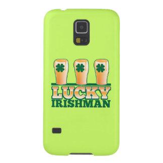 ビール店からの幸運なアイルランド人 GALAXY S5 ケース