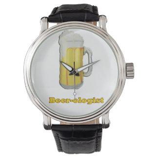 ビール恋人のユーモア 腕時計