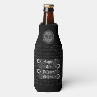 ビール瓶の帽子か灰色栓抜きまたは白2 ボトルクーラー