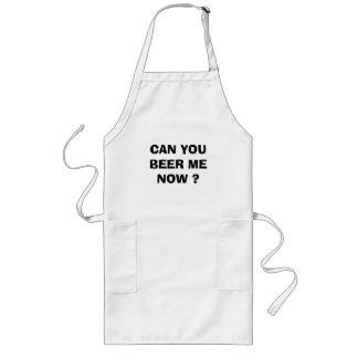 ビール私今できますか。 ロングエプロン