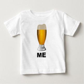 ビール私 ベビーTシャツ