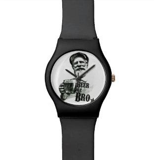 ビール私Bro 腕時計