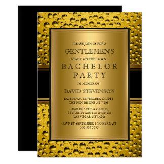 ビール紳士のバチュラーパーティ人の夜 カード