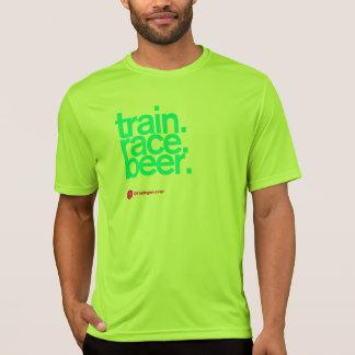 ビール連続した技術Tに私を後を追って下さい Tシャツ