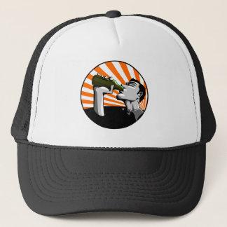 ビール飲む帽子 キャップ