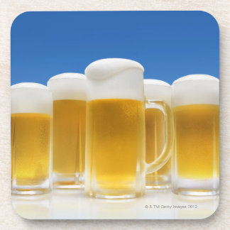 ビール6 コースター