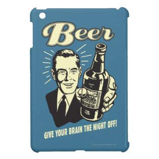 ビール: あなたの頭脳に夜を与えて下さい iPad MINIカバー