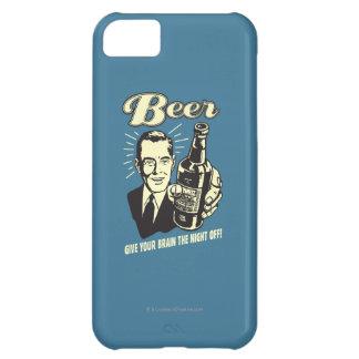 ビール: あなたの頭脳に夜を与えて下さい iPhone5Cケース