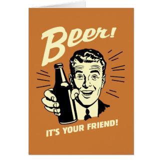 ビール: それはあなたの友人です カード
