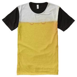 ビール オールオーバープリントT シャツ