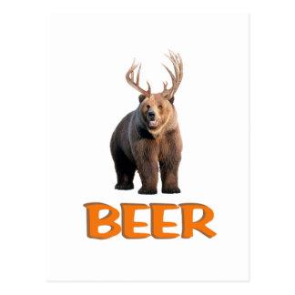 ビール ポストカード