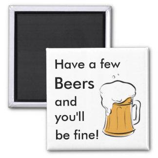 ビール マグネット