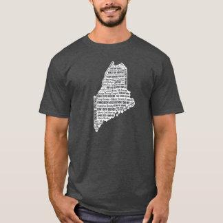 """""""ビール"""" -人の暗く短い袖の州 Tシャツ"""