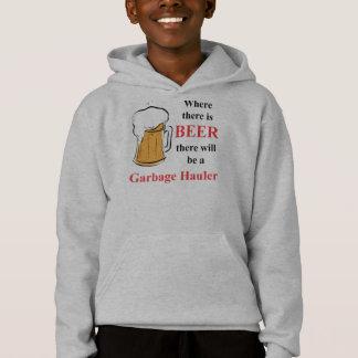 ビール-廃物の運送業者--があるところ