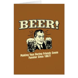 ビール: 救済して友人はよりおかしいようです カード