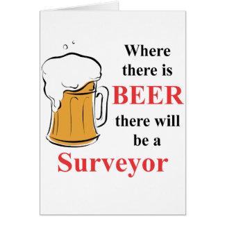 ビール-検査官--があるところ カード