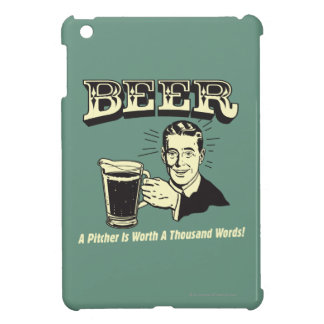 ビール: 水差しは1000ワードの価値があります iPad MINIカバー