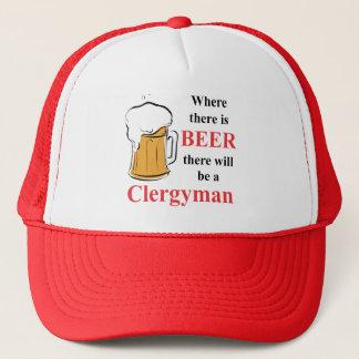 ビール-牧師--があるところ キャップ