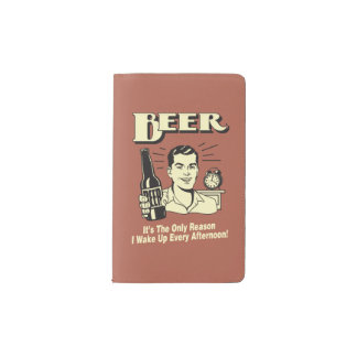 ビール: 理由だけ私は午後を目覚めます ポケットMoleskineノートブック
