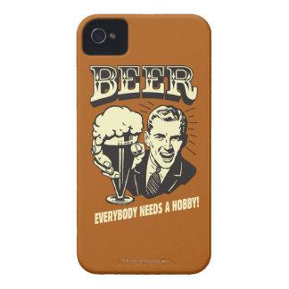ビール: 皆は趣味を必要とします Case-Mate iPhone 4 ケース