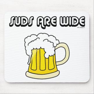 ビール-石鹸水は広いマウスパッドです マウスパッド