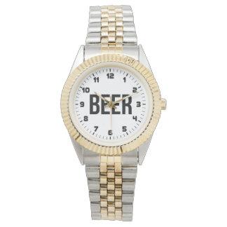 ビール 腕時計
