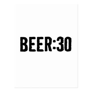ビール: 30 ポストカード
