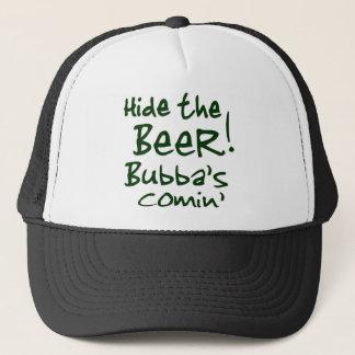 ビールBubbaのCominの帽子を隠して下さい キャップ